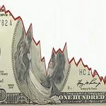 Chwilowy spadek dolara